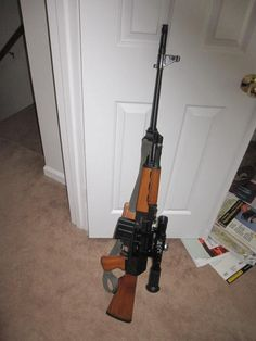 M76  8mm Mauser chambered AK variant, this rifle is a Mitchell Arms import.