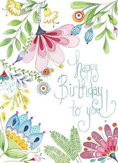Happy Birthday Wishes Cards, Happy Birthday Flower, Birthday Wishes Quotes, Happy Birthday Images, Birthday Cards, Funny Birthday Message, Happy Anniversary, Birthdays, Greek Language