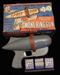 Space Souvenirs  Vintage Ray Guns    http://spacequest.tumblr.com/post/42040077472/vintage-ray-guns