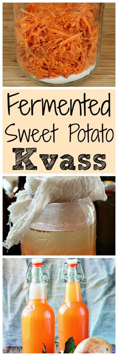 Learn how to make your own homemade naturally fermented sweet potato soda. Sweet potato kvass, also known as sweet potato fly.