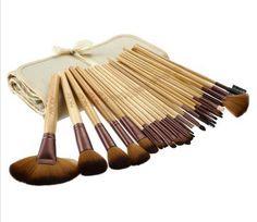 Professional Cosmetics Brush Set Highlighter Brush, Brow Brush, Eyeliner Brush, Cosmetic Brush Set, Makeup Brush Set, Hair Canvas, Roll Up Design, Blush Brush, Makeup Essentials