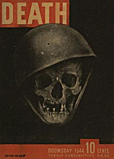 Vintage propaganda ''Death magazine'' Doomsday Issue... {1944}