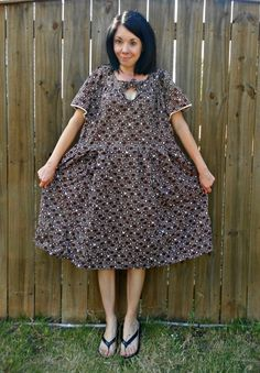 Fun blog!  she takes ugly clothing found at thrift stores and refashions them into something cute.