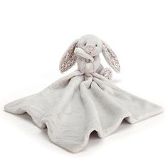 """Jellycat Blossom Silver Bunny Soother 13"""" Little Red Hen, Little Ones, Bunny Blanket, Jellycat, Baby Arrival, Baby Store, Rainbow Colors, Baby Gifts, Design"""
