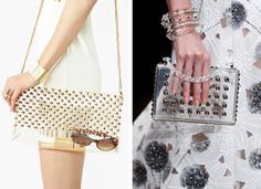 See - thru - bags #bags #clutches #clear
