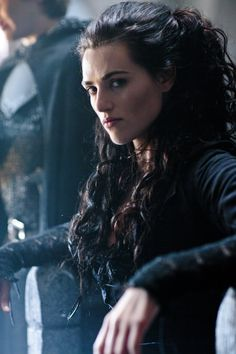 Morgana played by Katie McGrath in Merlin tv show via  http://merlin.wikia.com /wiki/Morgana_Pendragon