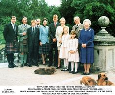 It's A Royal Affair — The Royal Family in Balmoral Princess Beatrice, Princess Eugenie, Princess Kate, Hm The Queen, Her Majesty The Queen, Queen And Prince Phillip, Prince Philip, A Royal Affair, Prince Harry