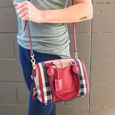 Burberry Small Alchester Bowling Bag just in! Call us at 813-258-8800 for more information or if you would like to purchase before it goes online!