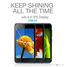 Gionee CTRL V3 offers clear IPS display for rich visual experience- http://gionee.co.in/?portfolio=ctrl-v3-2