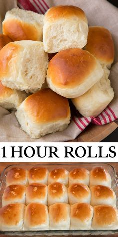 One-Hour Dinner Rolls – Cooking Classy 1 Hour Dinner Rolls – rolls don't get any easier than this! So soft, so fluffy, perfectly chew and deliciously buttery. A staple recipe! Fluffy Dinner Rolls, Homemade Dinner Rolls, Dinner Rolls Recipe, Pan Rolls Recipe, Dinner Rolls Easy, Homemade Yeast Rolls, Homemade Breads, Fluffy Yeast Rolls Recipe, Soft Fluffy Bread Recipe