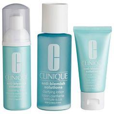 Clinique Anti-blemish 3 step System Hudplejesæt til fedtet hud - Coop.dk