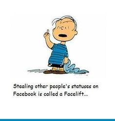LOL.. I guess I am guilty of facelifting!