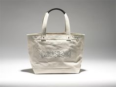 SALE - Exclusive Kate Spade Tote by Lawrence Weiner, designed for the Wolfsonian during Art Basel.