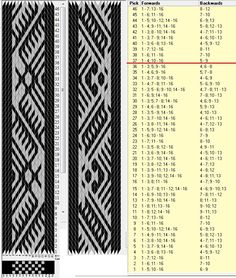 16 cards, 2 colors, repeats every 36 rows, sed_1022, GTT ༺❁
