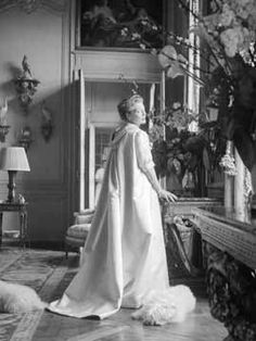 Mona at her Hotel Lambert apartment in Paris. She lived here with her husband, Count Eduard Bismarck, for a number of years, before settling into the enormous town house at 34 Avenue de New York.
