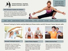 Senior Personal Training in NYC: http://www.senior-personal-training.com