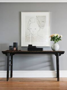 Living room paint grey farrow ball 17 ideas for 2019 Farrow And Ball Living Room, Living Room Paint, Living Room Grey, Living Room Decor, Dining Room, Hallway Colours, Room Colors, Wall Colors, House Colors