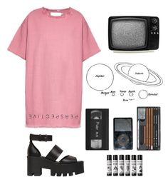 """""""//love//"""" by nallienadster ❤ liked on Polyvore featuring moda, Marques'Almeida e Windsor Smith"""