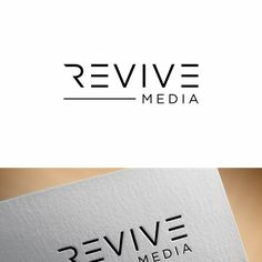 Revive Media - Revive Media We take people¡¯s most valuable memories that are stored on obsolete types of media such as VHS, Super Hi 8 and man. Personal Logo, Photography Logos, Grafik Design, Logo Design, Company Logo, Memories, People, Memoirs, Souvenirs
