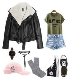 """""""Untitled #56"""" by rougebeauty on Polyvore featuring Lot78, Converse, J.Crew and Olivia Burton"""