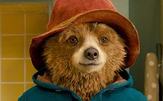 Paddington bear in a film still from the new Paddington movie