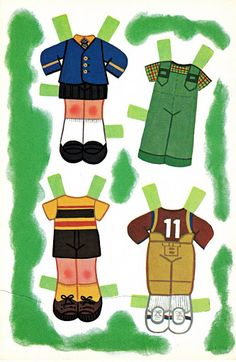 Paper Dolls~Sherry and Terry - Bonnie Jones - Picasa Web Albums
