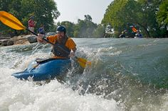 You'll find the best of both worlds in Arkansas: Siloam Springs, AR is one of the few places where old-school community meets new-school opportunity. Siloam Springs Arkansas, Water Frame, Kayak Adventures, Kayaking, Attraction, River, Park, World, Places