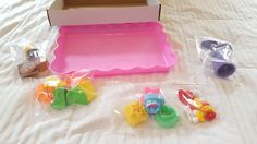 Deluxe Cake and Cookie Sand Molds Kit 37 pc with Play Tray Clay Arts PlayDoh #USAToyz