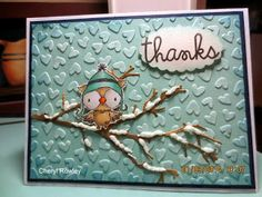 Cottage Creations: Snowy the owl-thanks!
