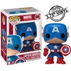 Funko POP! Marvel 4 Inch Vinyl Figure Captain America