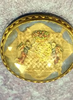 Stuart Crystal ribbon slide for sale! Late century and still in good condition. Tested at gold. Stuart Crystal, Lovers Eyes, Mourning Jewelry, Memento Mori, Cherub, Crystal Jewelry, Jewels, Crystals, 17th Century