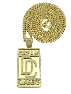 "Letter Love Hip Hop Rhinestore Dream Chasers Pendant &36"" Cuban Link Chain Rock Necklace. Metal:Alloy Style:Pendant. Theme:Hip Hop. Note: For return policy in non product problem, customer has to response for shipping fee and 15% restore fee.Please return within 14 days."