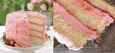 Quer um recheio especial para o seu bolo? Então aposte no Recheio de Mousse de Morango Tipo Sodiê. Ele é cremoso, saboroso e vai valorizar muito o seu bolo