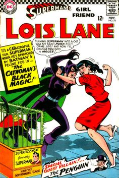 buckrogersinthe21stcentury:  superdames:  Fun Fact: Catwoman...