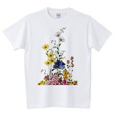 花束をどうぞ | デザインTシャツ通販 T-SHIRTS TRINITY(Tシャツトリニティ)