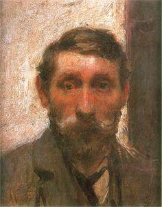 Władysław Ślewiński self portrait