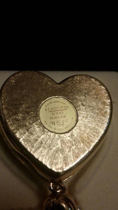 Vintage Estee Lauder solid perfume necklace NIB by MakeMeVintage73