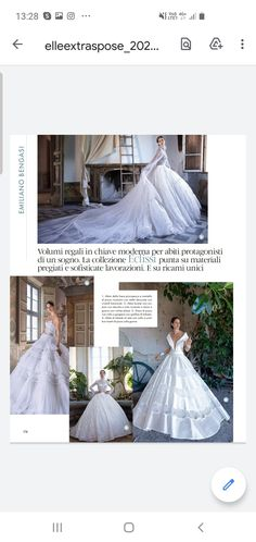 Formal Dresses, Wedding Dresses, Ball Gowns, Fashion, Dresses For Formal, Bride Dresses, Ballroom Gowns, Moda, Bridal Gowns