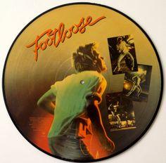 Various Artists - Footloose (Original Motion Picture Soundtrack)  - Picture Disc LP Vinyl Record Album, Columbia - 9C9 39404, 1984, Original