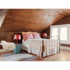 Log Cabin - Room Gallery - MyHomeIdeas.com ❤ liked on Polyvore featuring home, home decor and inspirational home decor