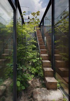 Лестница в сад