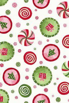 pink christmas fabric - Google Search