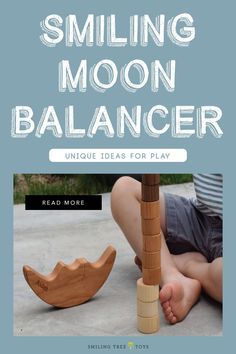 Guest writer Missy shares her 4 fun ideas for playing with Smiling Tree  Toys signature Smiling Moon Balancer, and then come up with your own ideas for play! The possibilities are endless. #eduationaltoy #playbasedlearning  #woodtoys Toys For Us, Kids Toys, Animal Activities, Natural Parenting, Sensory Bins, Wood Toys, Fine Motor Skills, Raising Kids, My Children