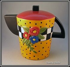 Mary Engelbreit Teapot