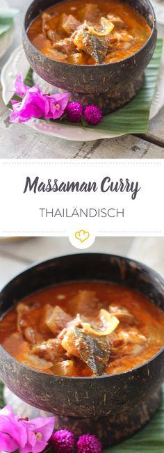 Ein besonders aromatisches Gericht aus der thailändischen Küche. Das Curry vereint asiatische und orientalische Einflüsse perfekt.