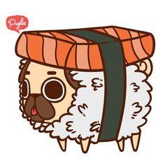 Cozy Puglie Sushi °˖ ✧ ∠(◉♔◉U 」∠)_ ✧ ˖ °