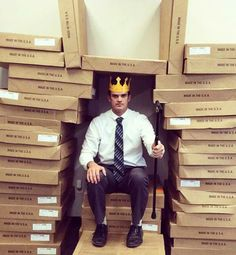 Mike Davenport. King of the Fucking World. Or at least the Akron Corrugated Box Company.