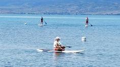 Paddle boarding Bear Lake Ut