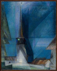 Lyonel Feininger, Gelmeroda XIII (Gelmeroda), 1936.