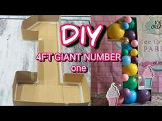 Diy Birthday Number, 1st Birthday Decorations Boy, Balloon Decorations Party, Birthday Diy, Rodeo Birthday Parties, Crayon Birthday Parties, Boys 1st Birthday Party Ideas, Number 1 Balloon, Giant Number Balloons